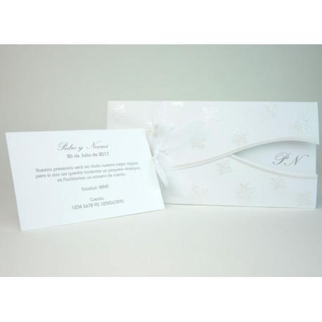 Invitación de boda porongo