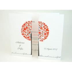 Invitación de boda quenepa