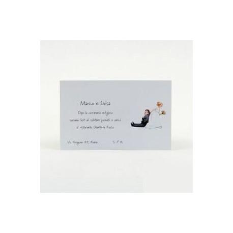 Invitación boda -Sí o Sí- de la chaqueta