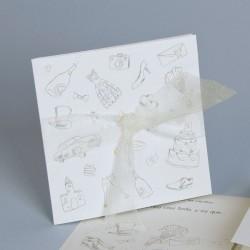 Invitación de boda dibujos lapiz
