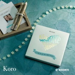 Invitación de boda Koro