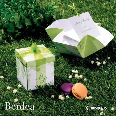 Invitación de boda Berdea