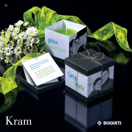 Invitación de boda Kram