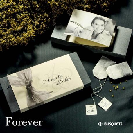 Invitación de boda Forever