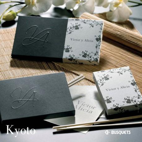 Invitación de boda Kyoto