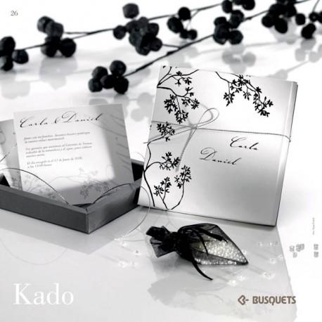 Invitación de boda Kado