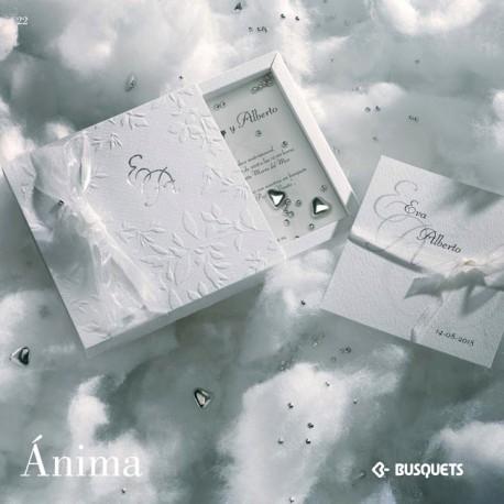 Invitación de boda Anima