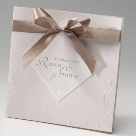 Invitación de boda tarjetas elegance