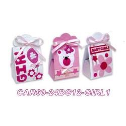 Set 24 cajas infantiles baby girl