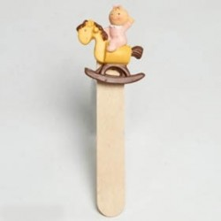 Marca paginas Pita caballo de madera