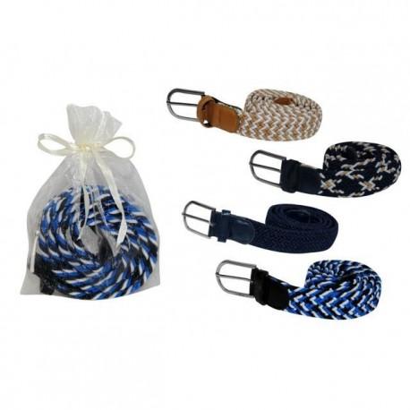 Cinturon elastico en bolsa de tul