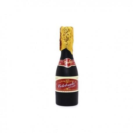 Cañón espirales botella de champan