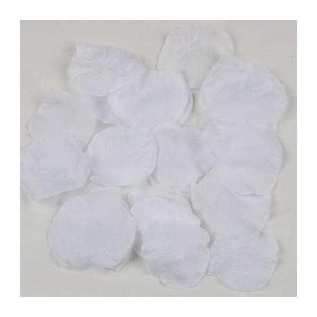 Petalos de rosa blancos